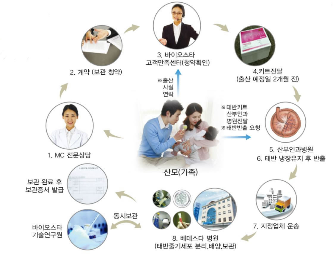 줄기세포 보관방법